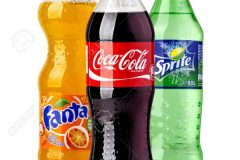 Coca-Cola, Fanta and Sprite Bottles